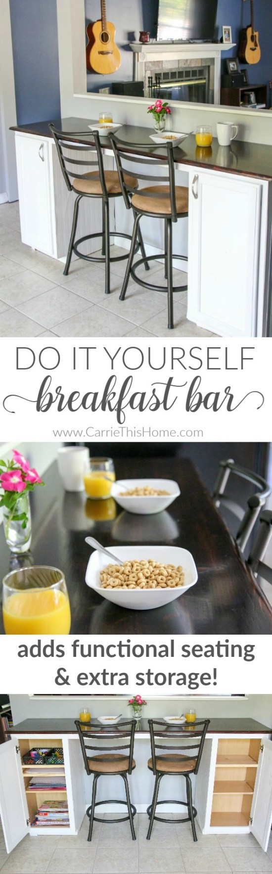 Diy Breakfast Bar An Easy Weekend Project You Can Do