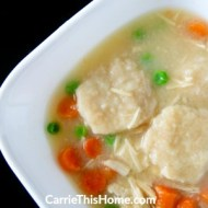 Quick & Easy Chicken and Dumpling Soup
