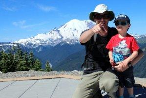On the Summit of Crystal Mountain