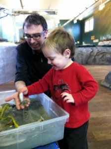 At the Marine Science Center