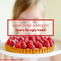 when food addiction rears its ugly head