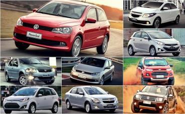 Veículos mais vendidos do Brasil
