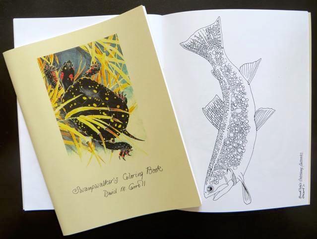 swampwalker coloring book 1