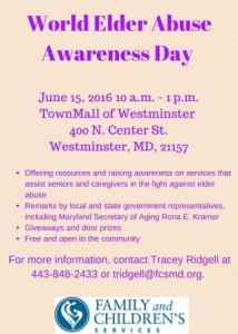 DIGITAL World Elder Abuse Awareness Day