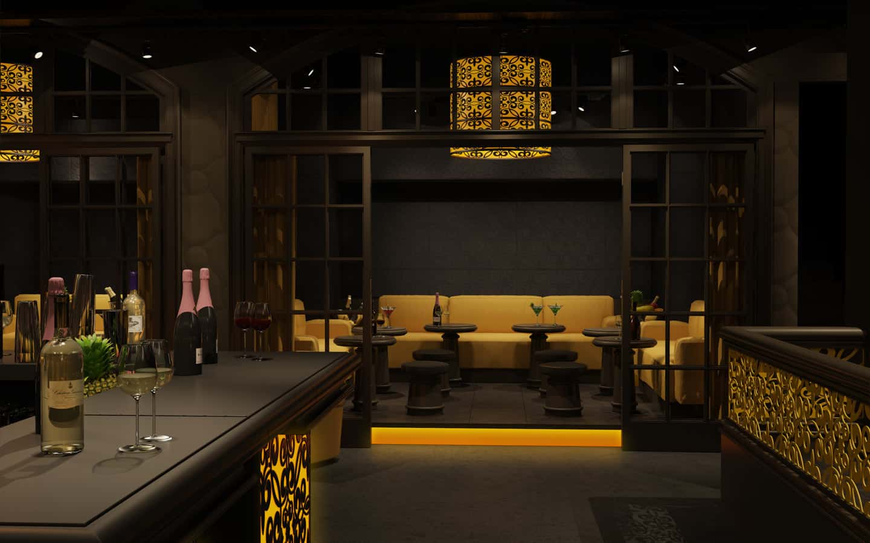 The Milton Club Carroll Design