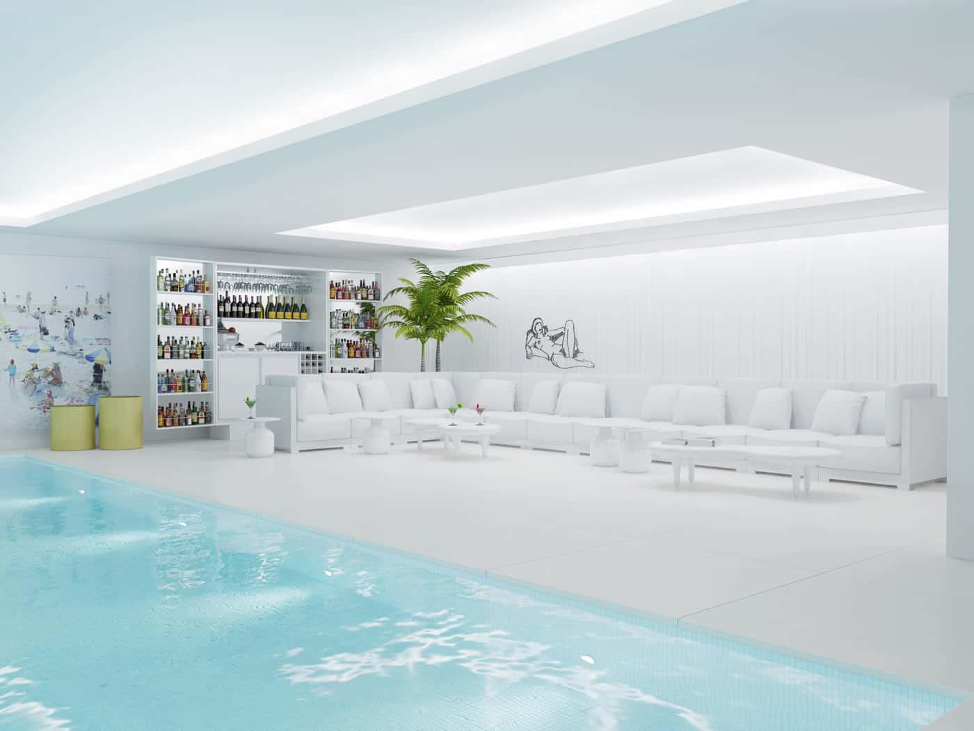 Interior Swimming Pool Carroll Design