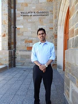 Zach Hussain, MBA'15