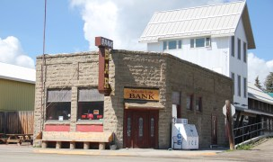 Park Co US 89 wilsall bank