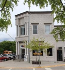 300-304 Main, 1st State Bank, Stevensville NR