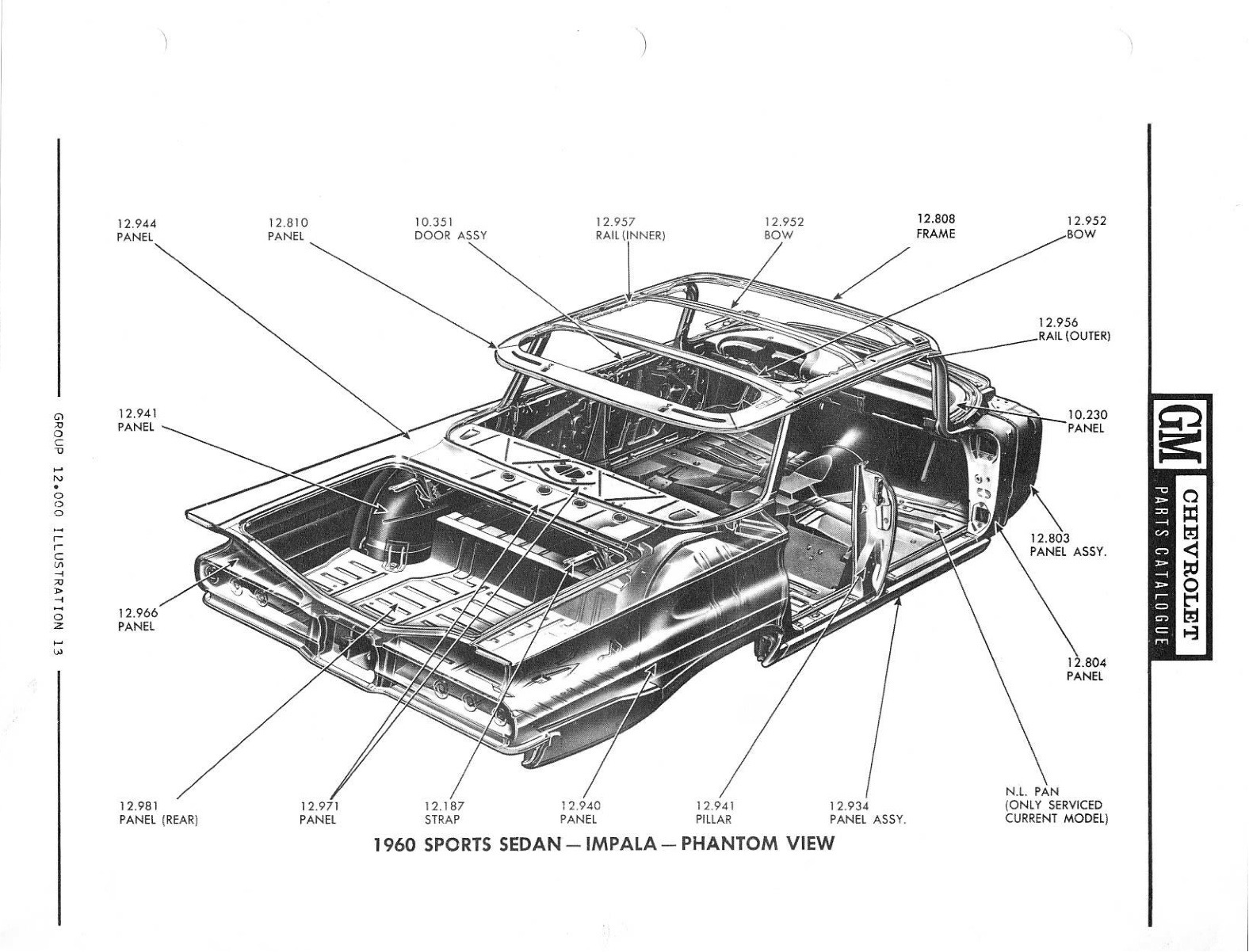 2chevrolet Chevy Parts And Illustration Catalog