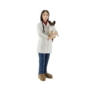 Figura Jenny Veterinarian and Dog / 10 cm