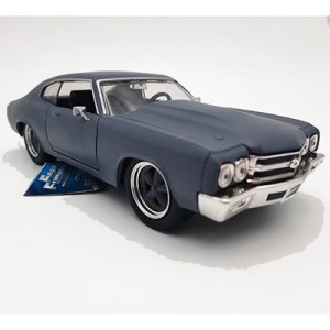 Chevelle SS 1970 gris mate