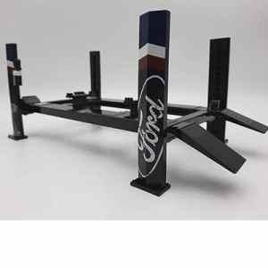 Rampa Elevadora de 4 postes color negro