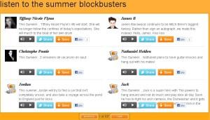 Orange #thissummer campaign page