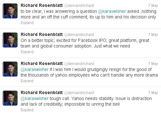 Rosenblatt Tweets