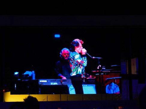 Mick Jagger on the big screen