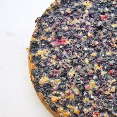 Blueberry Sticky Cake