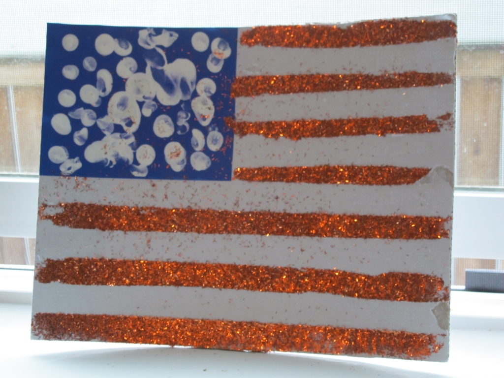 Memorial Day Preschool Activity American Flag