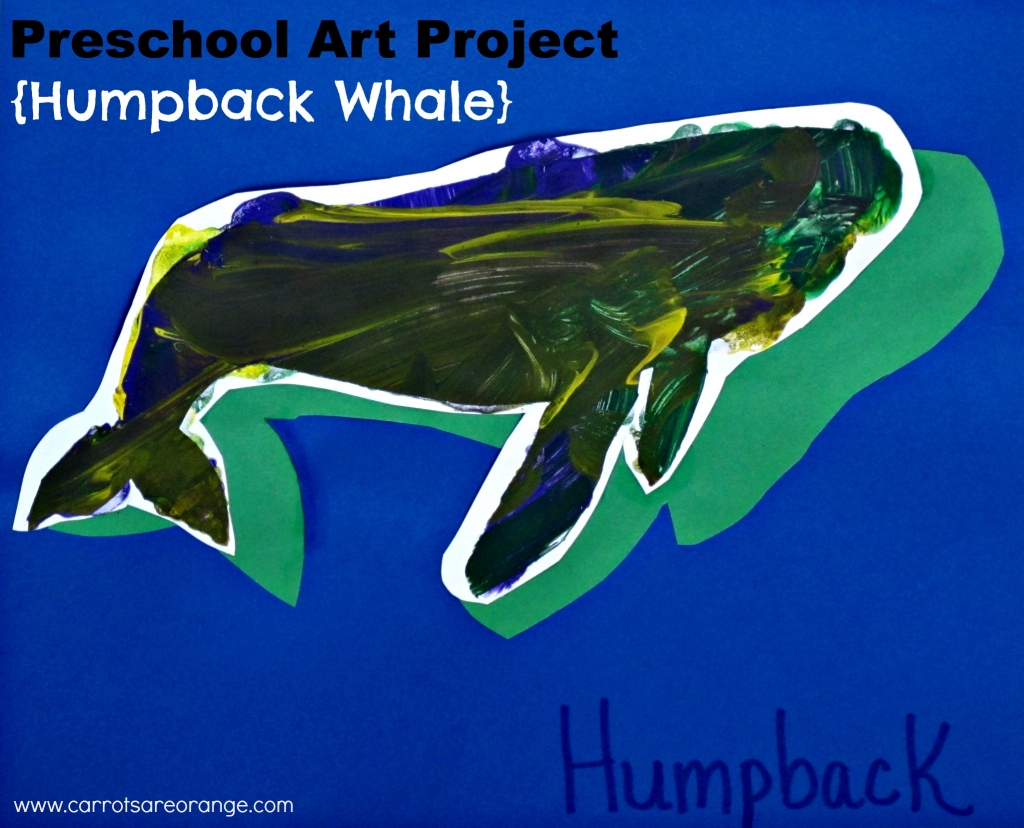 Preschool Whale Art Craft