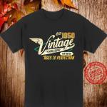 70 Geburtstag Geschenk Manner Frauen Vintage 1950 Shirt