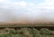 Mar 2011peat wind erosion at Killerby carr
