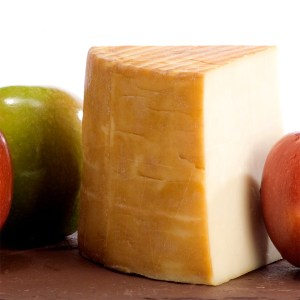 Apple Smoked Goat Cheddar