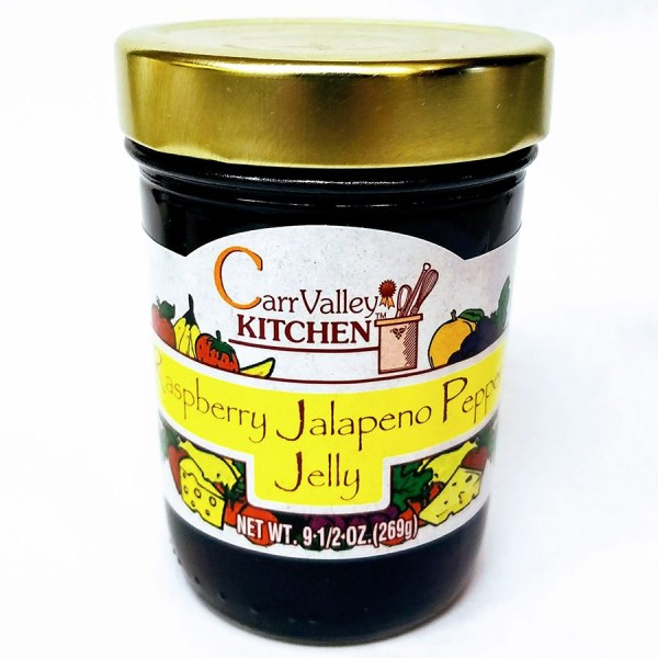 Raspberry Jalapeno Jelly 9.5 oz