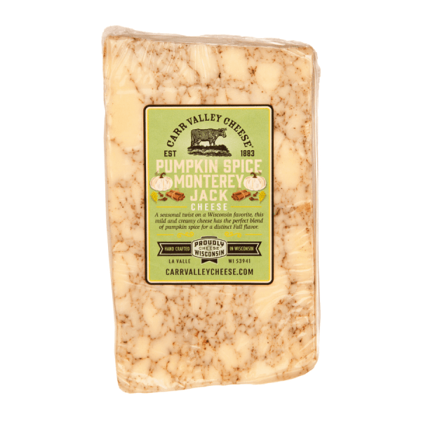 Pumpkin Spice Monterey Jack Cheese