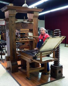 Gutenburg Press By vlasta2 - Flickr: PrintMus 038, CC