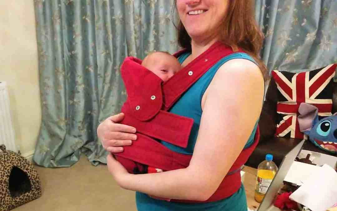 Top tips for carrying your baby after a Caesarean Section