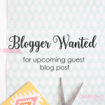 Bloggers Wanted: For upcoming series