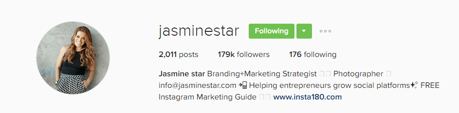 how to craft your Instagram bio to attract potential clients