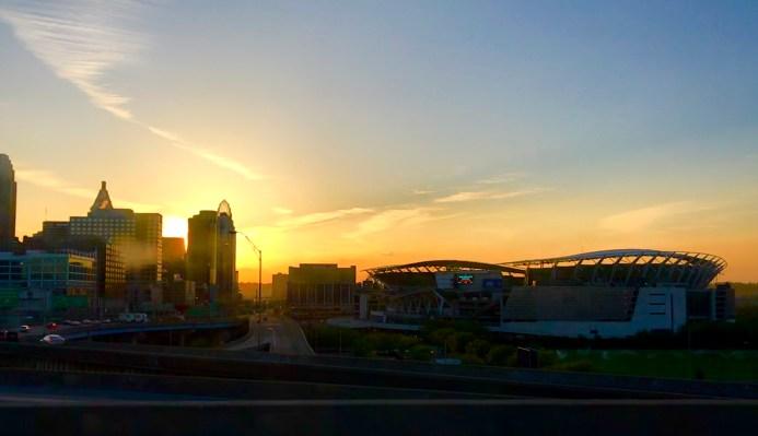 Cincinatti Ohio Sunrise