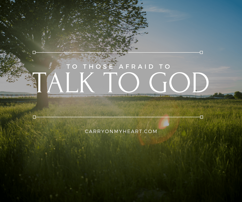how to talk God