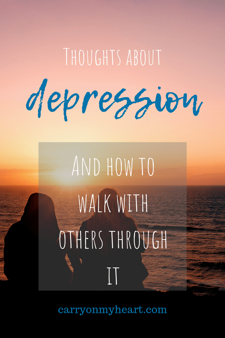 Thoughts on depression...