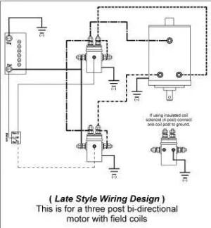 Where To Find Ramsey Bidirectional Winch Motor Wiring