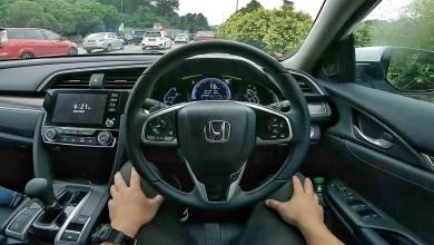Photo of 2021 Civic 1.5 Turbo Hill Drive + Honda Sensing Demo