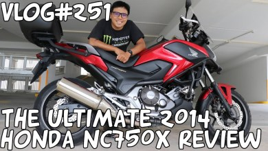 Photo of Vlog#251 The Ultimate 2014 Honda NC750X Motorcycle Review Singapore