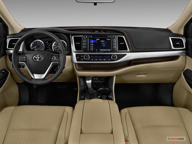 Toyota Highlander Interior 2017