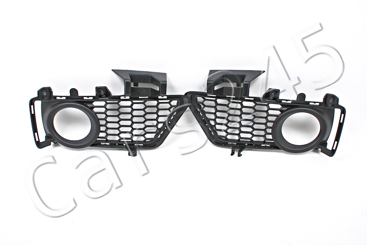 Genuine M Package Front Bumper Fog Light Grills Pair Bmw 3