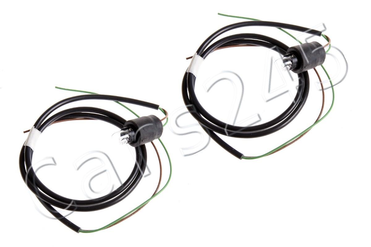 Genuine Vw Audi Skoda Wiring Harness For Side Lamp 2 Pin
