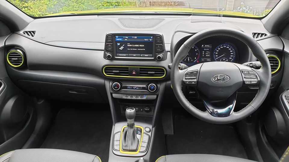 hyundai - 2019 Kona Highlander dash - Hyundai Kona: keep looking Aunty Joan