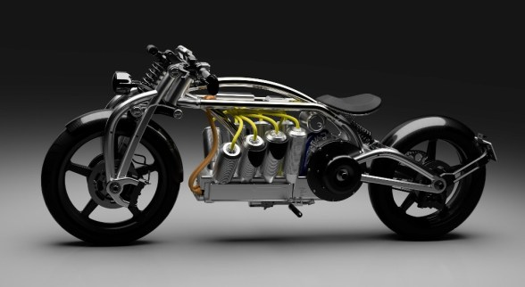 curtiss - Curtiss Zeus V8 01 - Electrifying Curtiss bike looks the part