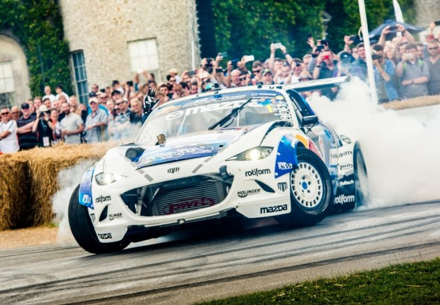 emotional roller coaster as drivers tackle hillclimb - Goodwood - Emotional roller coaster as drivers tackle hillclimb