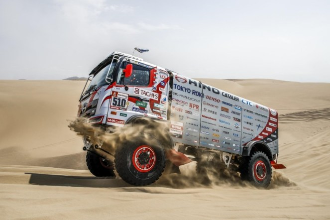 hino - Hino Dakar  - Hino makes it 10 in a row