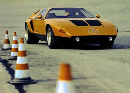 benz - MB C 111 2 - A little ray of sunshine for could-have-been Benz