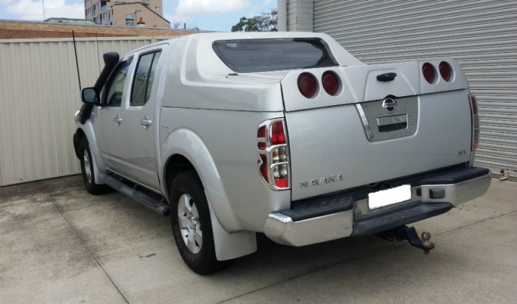 canopy - Nissan navara canopy plate - Godzilla ute guaranteed to stand out