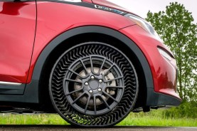 airless - michelin airless tyre 01 - Airless tyre tests — no pressure