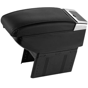 Car multi-functional Arm Rest Black color