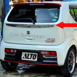 Suzuki Alto 660cc RS Style Trunk Chrome Garnish